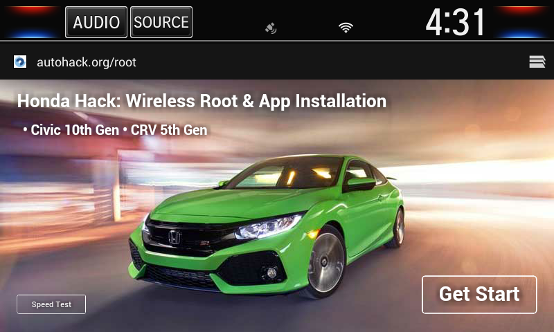 Root your Honda head unit and install apps freely - Honda Hack